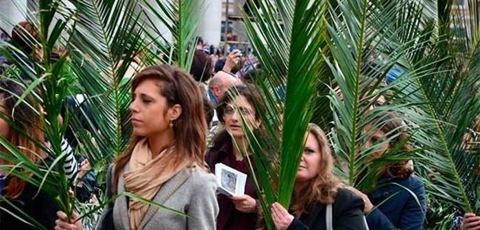 Resultado de imaxes para homilia domingo de ramos