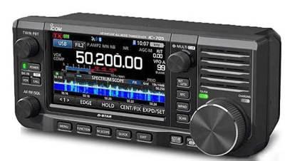 IC-705 ICOM HF/VHF/UHF TRANSCEPTOR PORTATIL MULTIBANDA