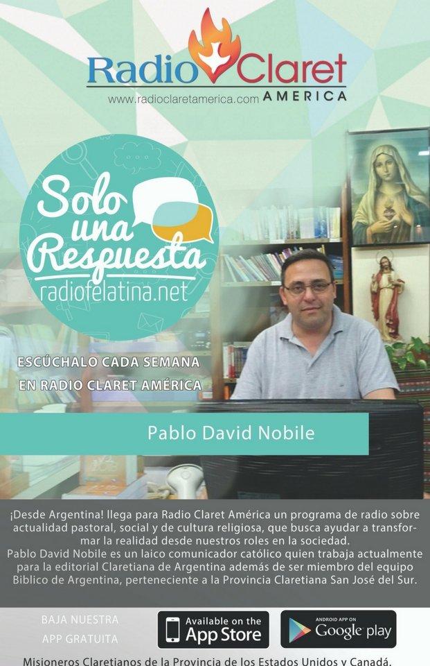 Pablo David Nobile - Misioneros Claretianos
