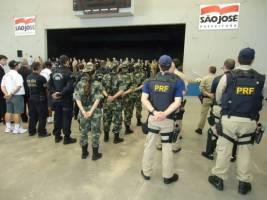 PRF/SC Participa Do Lançamento Da Operação Veranei...