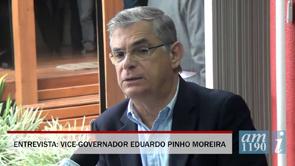 Vice-governador fala sobre ponte e hospital de SJB