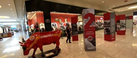 Bombeiros são homenageados por exposição em São Jo...