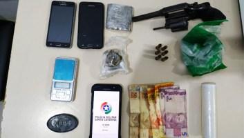 Operação contra o tráfico de drogas deixa um morto...