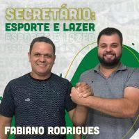 Fabiano Rodrigues Será o Secretário de Esporte e L...
