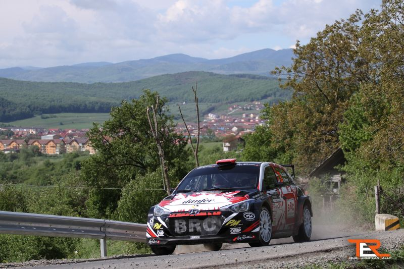 Giandomenico Basso la Transilvania Rally