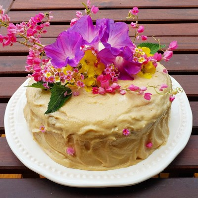 Receta: Pastel de cumpleaños vegano