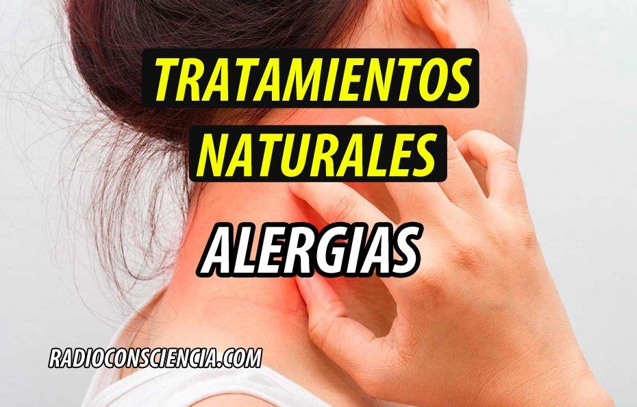 TRATAMIENTO NATURAL alergias