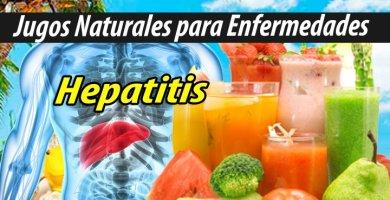JUGOS PARA HEPATITIS NATURISTA