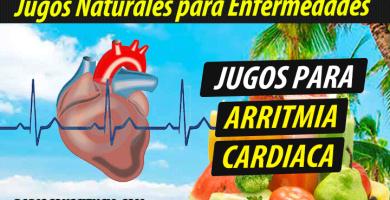 Jugoterapia jugos-para-la-Arritmia-Cardíaca