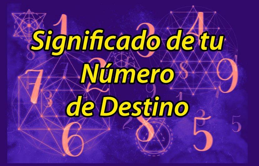 significado numero destino