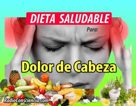 Dieta para dolores de cabeza