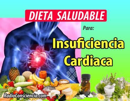 Dieta para la Insuficiencia Cardíaca