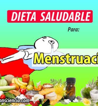 Dieta para la Menstruación