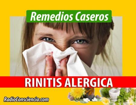Remedio para la Rinitis Alérgica