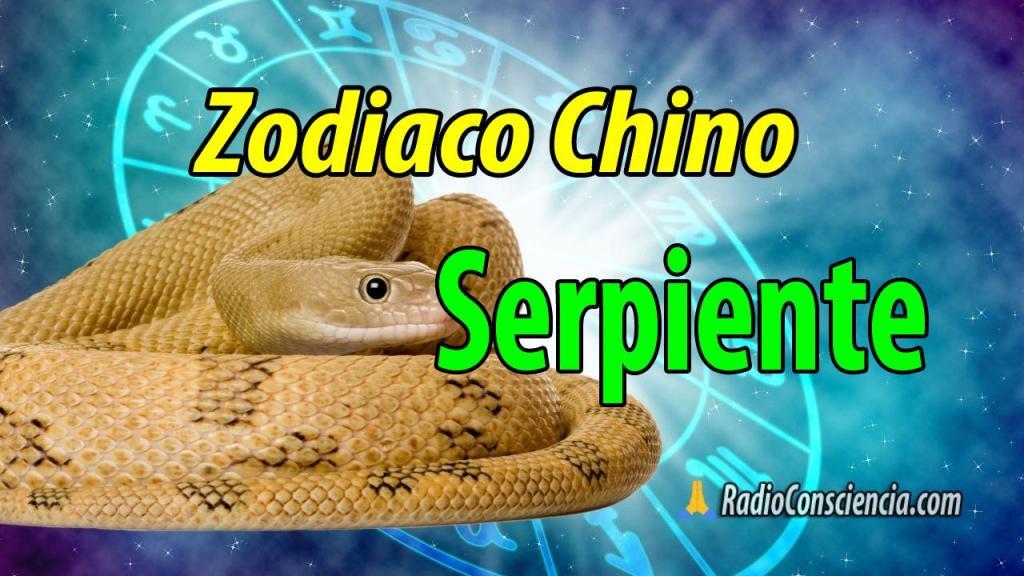Horoscopo chino Serpiente