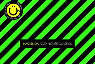 Petre Hook, Hacienda new club acid house compilation - cover album