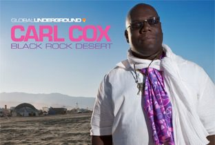 GU38 Black Rock Desert compilation cover mixed by Carl Cox