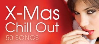 X-mas Chill Out, girl,red,Christmas cover album