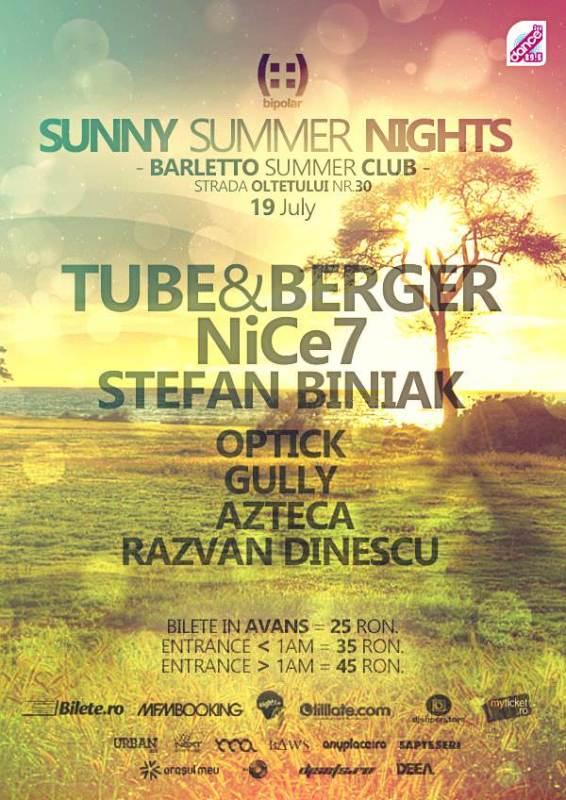 Flyer bipolar SUNNY SUMMER NIGHTS