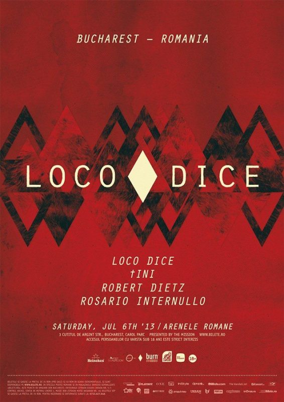 Flyer party The Mission presents Loco Dice and tINI