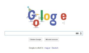 google doodle 16 ani