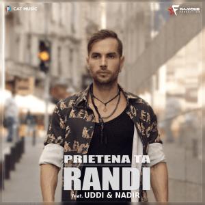 CD Cover Randi - Prietena Ta