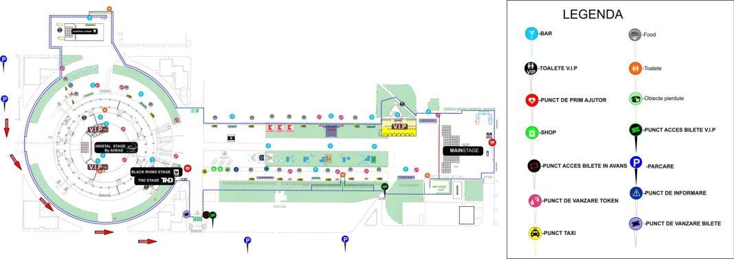 Harta evenimentului TimeShift Bucuresti la Romexpo
