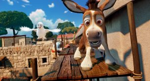 Dave (Keegan-Michael Key) and Bo (Steven Yeun) in Sony Pictures Animations' THE STAR.