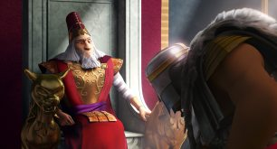King Herod (Christopher Plummer) in Sony Pictures Animations' THE STAR.