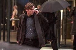 Mikael Blomkvist (Sverrir Gudnason) in Columbia Pictures' THE GIRL IN THE SPIDER'S WEB.
