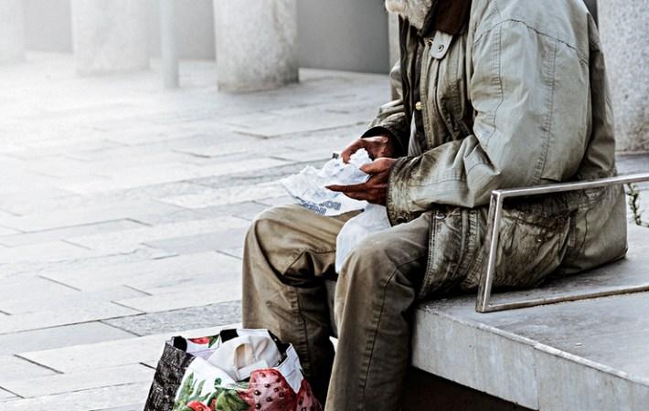 Esperando entrar en la Ciudad de la Paz