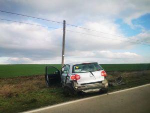 Continuă seria accidentelor pe drumul spre Agighiol