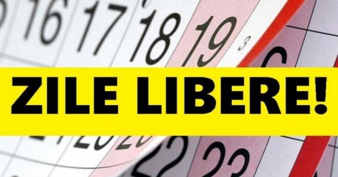 Zile libere 2021: Mai mult de jumătate dintre liberele de anul viitor pică în weekend