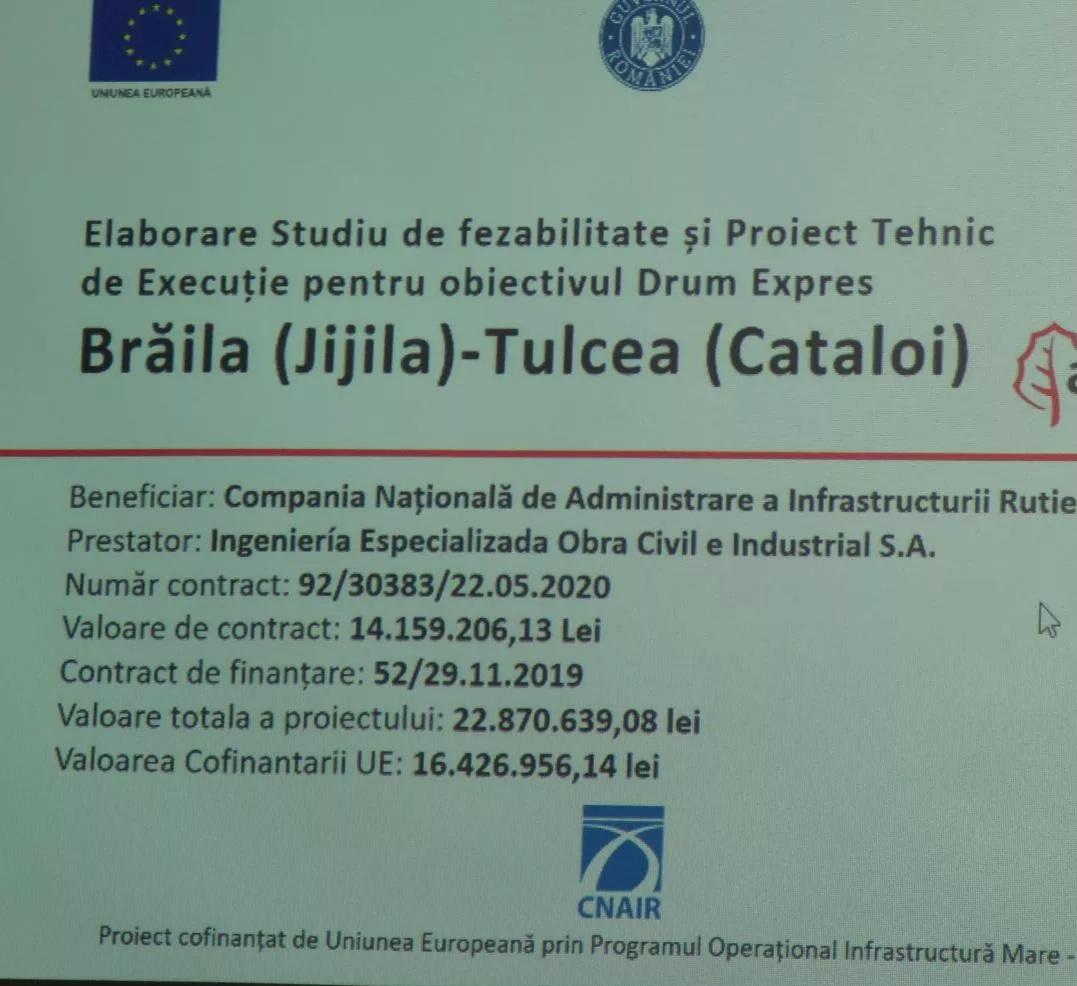 Proiectarea drumurilor expres ce vor lega Tulcea de Brăila și Constanța – o primă întâlnire de lucru
