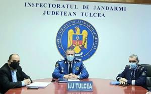 Jandarmeria Tulcea, peste 12000 de misiuni in anul 2020