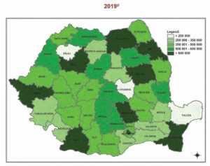 Depopulare dramatică. România va pierde cateva milioane de locuitori până în 2100