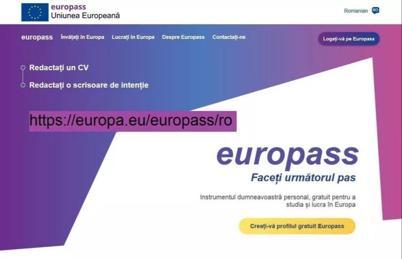 Ce este EUROPASS?