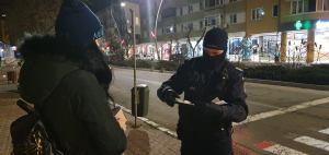 Jandarmii și polițiștii au fost pe străzi azi noapte