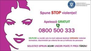 STOP violenței!