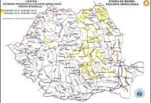 Un nou COD PORTOCALIU pentru râurile din Dobrogea