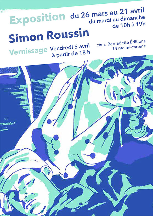 Vernissage _ Simon Roussin