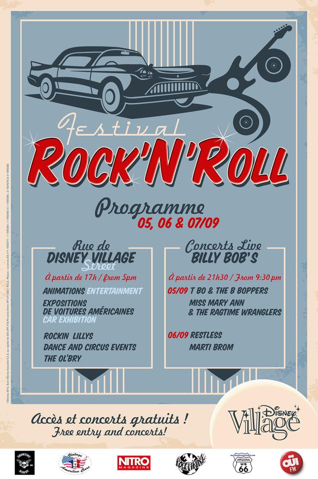 festival rocknroll disney village 2014