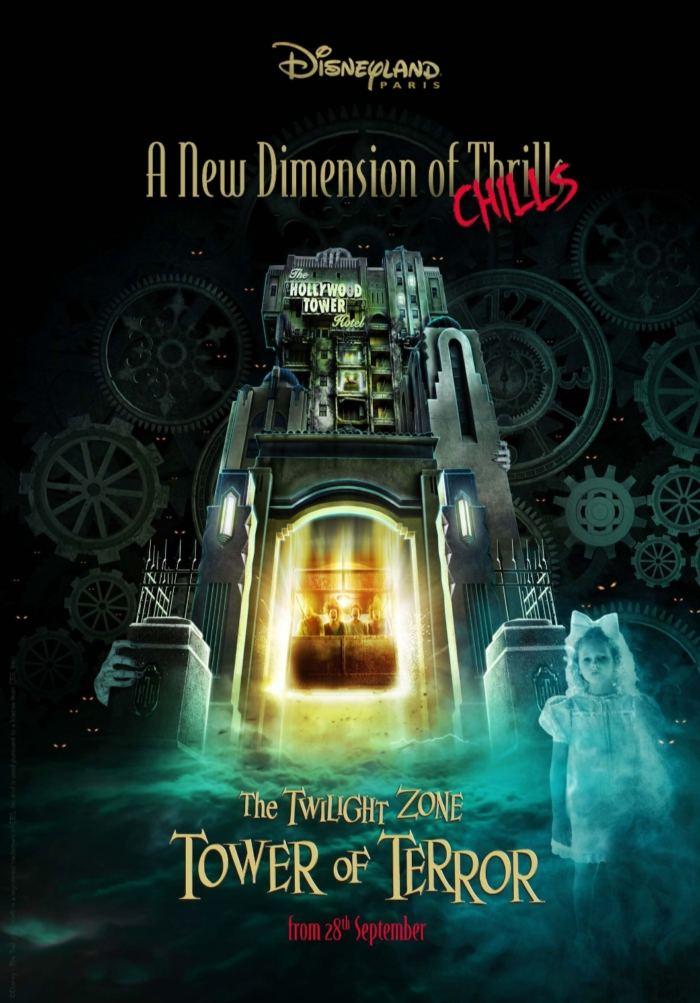 La Tour De La Terreur : terreur, Twilight, Tower, Terror, Nouvelle, Dimension