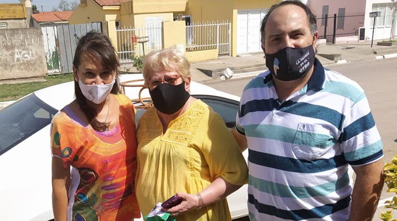 8M: Concejales del Frejupa entregaron reconocimientos a vecinas destacadas de Eduardo Castex