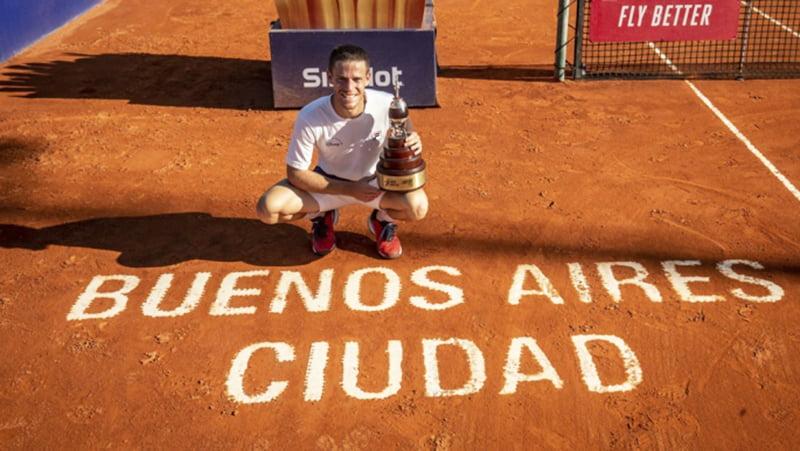 Diego Schwartzman es el campeón del Argentina Open 2021