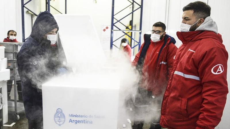 La Pampa también recibirá 3.000 dosis del segundo componente de Sputnik V