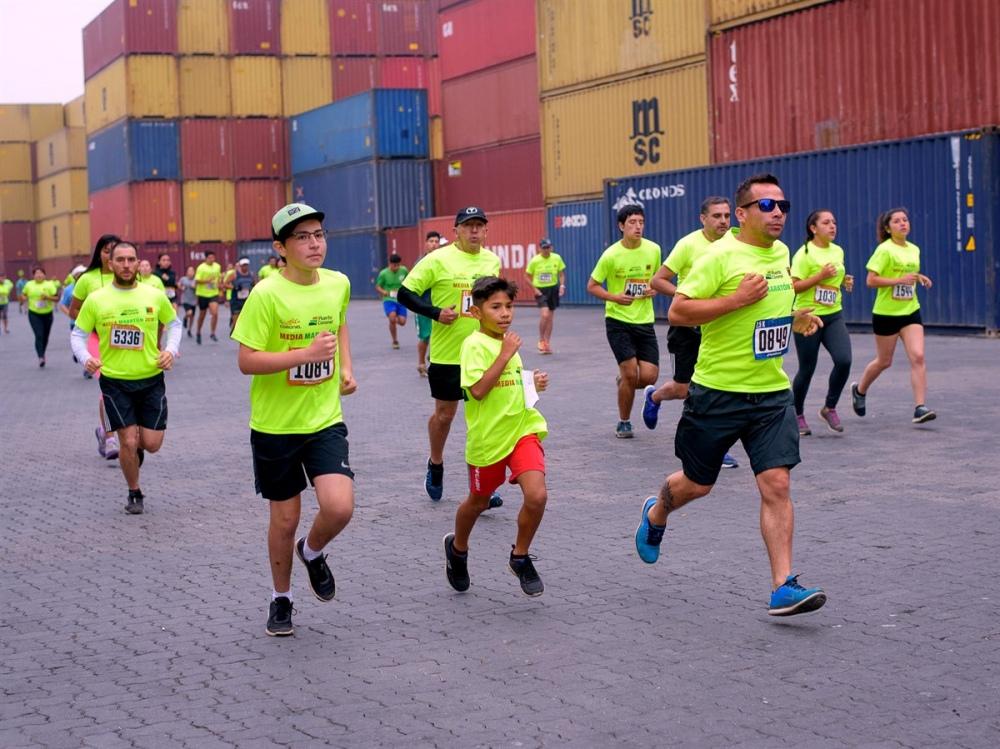 Puerto Coronel se alista para recibir a atletas en Media Maratón