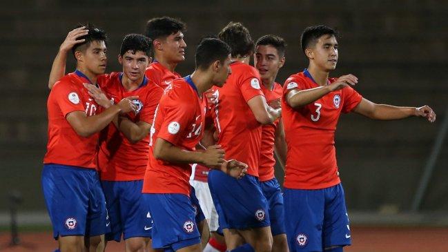 Chile juega por la clasificación al Mundial sub 17 ante Argentina