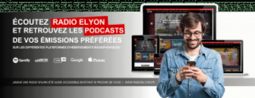 Ecoutez Radio Elyon et retrouvez les Podcasts de vos émissions préférées sur Spotify, TuneIn, Deezer, Google Podcasts ou encore Itunes. Jamais une radio n'aura été aussi accessible en étant si proche de vous !