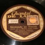 "disco pizarra gramofono ""Serenade"" de Toselli - radioexperto.com"